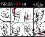 Bleeding meme:Knuckles
