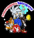 HAPPY BIRTHDAY SONIC 2015!