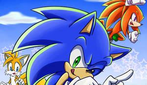 Sonic fan book ING!