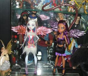 MonsterHigh Demon and Angel - Clowdeen by Mechanic-Star