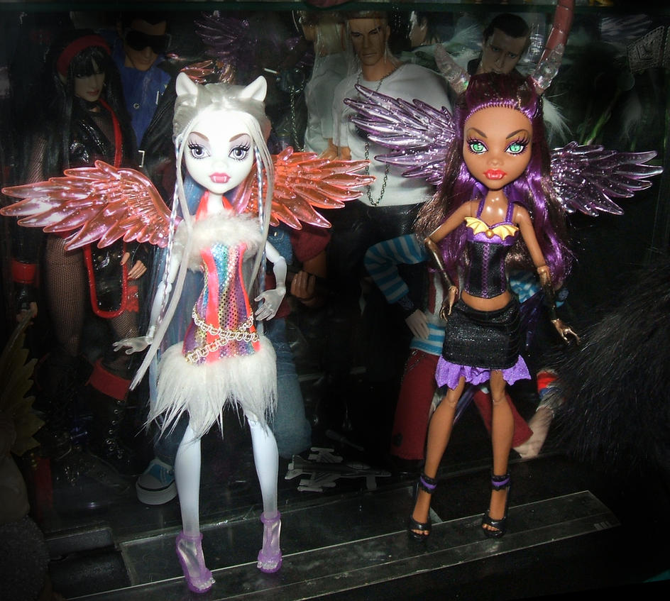 Monster High Demon and Angel - Clowdeen by Mechanic-Star