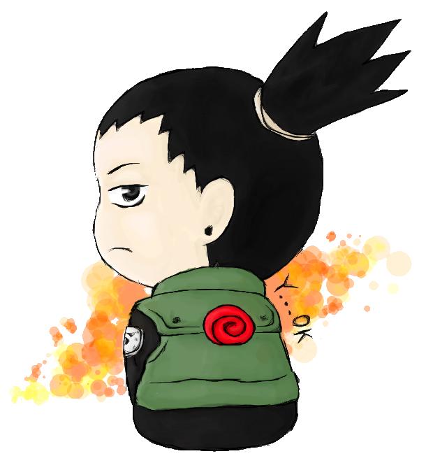 Chibi Shikamaru by relievez-z