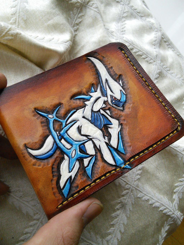 Arceus Pokemon Wallet Leather