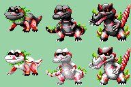 Krookorush-Krookocrush-Krookolush Sprite Sheet by Bubblypies
