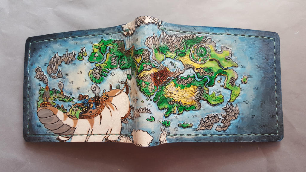 Avatar, Map wallet by Bubblypies