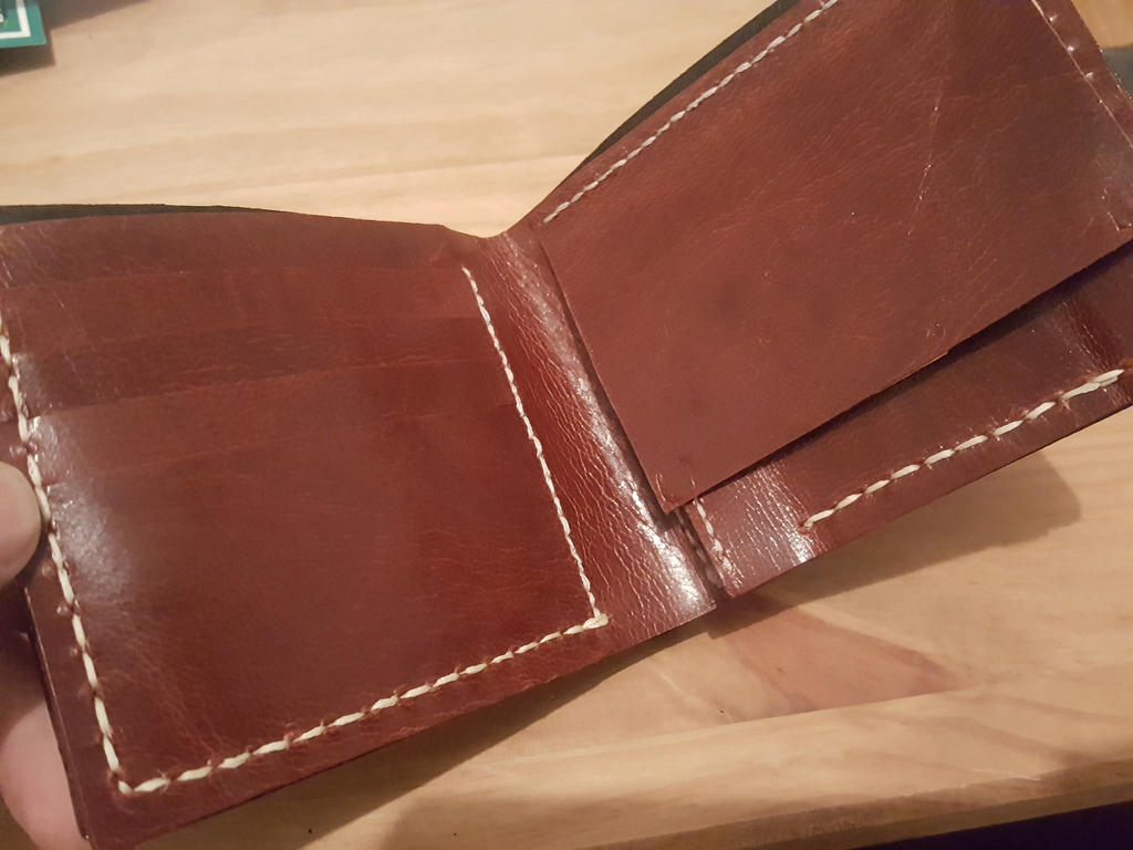 Targaryen hand crafted wallet, inside by Bubblypies