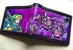 Ghost pokemon vrs link leather wallet