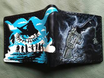 Final Fantasy 8 Gunblade Garden Seed wallet by Bubblypies