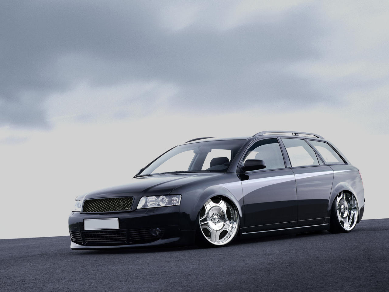 Audi RS4 Dub Style by ~guile-creations on deviantART