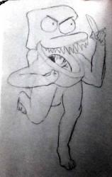 bored sketch