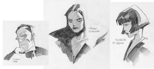 Infinite City, character study