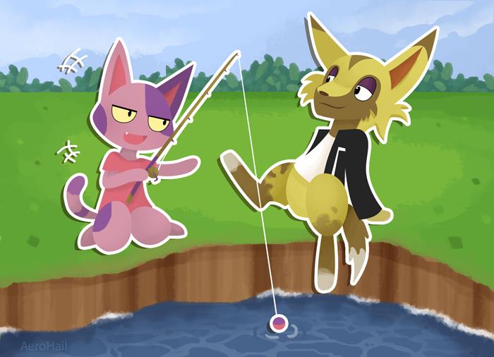 Fishing by Aer0Hail