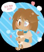 OC - Too cute. What do? by Aer0Hail