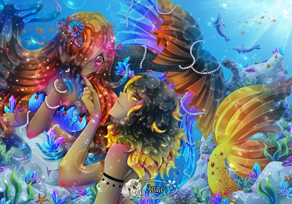 + Lapis Lazuli + Under the Sea + by AngeKrystaleen