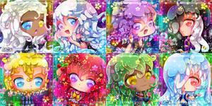 + Team Kaassos + Rainbow Headshot + by AngeKrystaleen