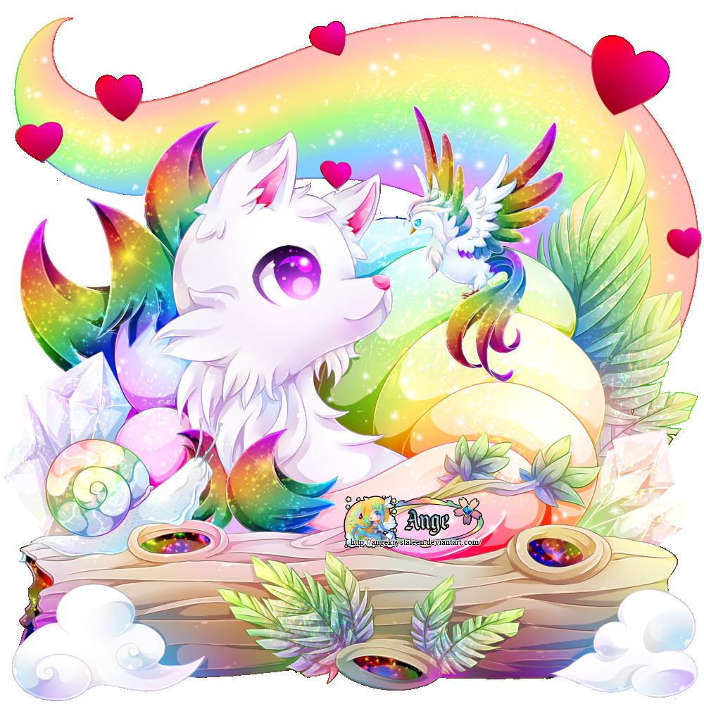 + Rainbow Kitsune +