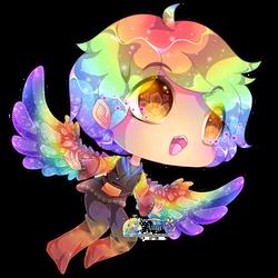 + Rainbow Angel +