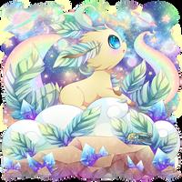 + Pokemon Rainbow Galaxy + Leafeon +