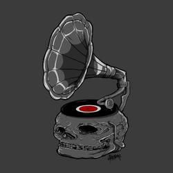 Gramoskullphone by pekthong