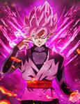 Devine Power -  Goku Black DBS Artwork