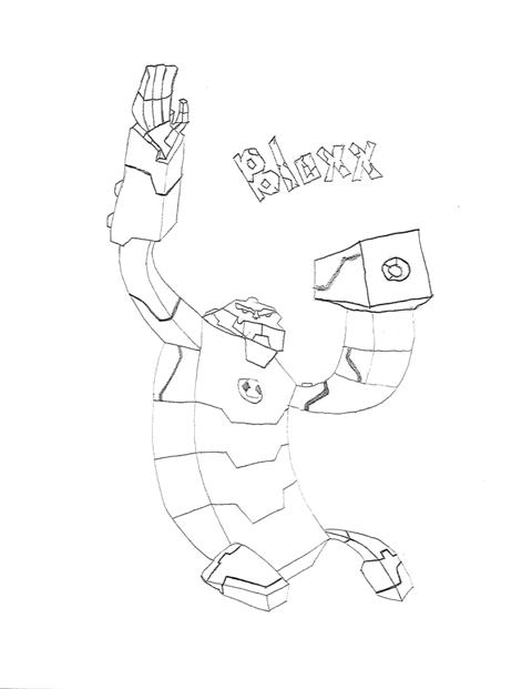 Bloxx ben 10 omniverse by ultimatepeyton on deviantart for Ben ten omniverse coloring pages