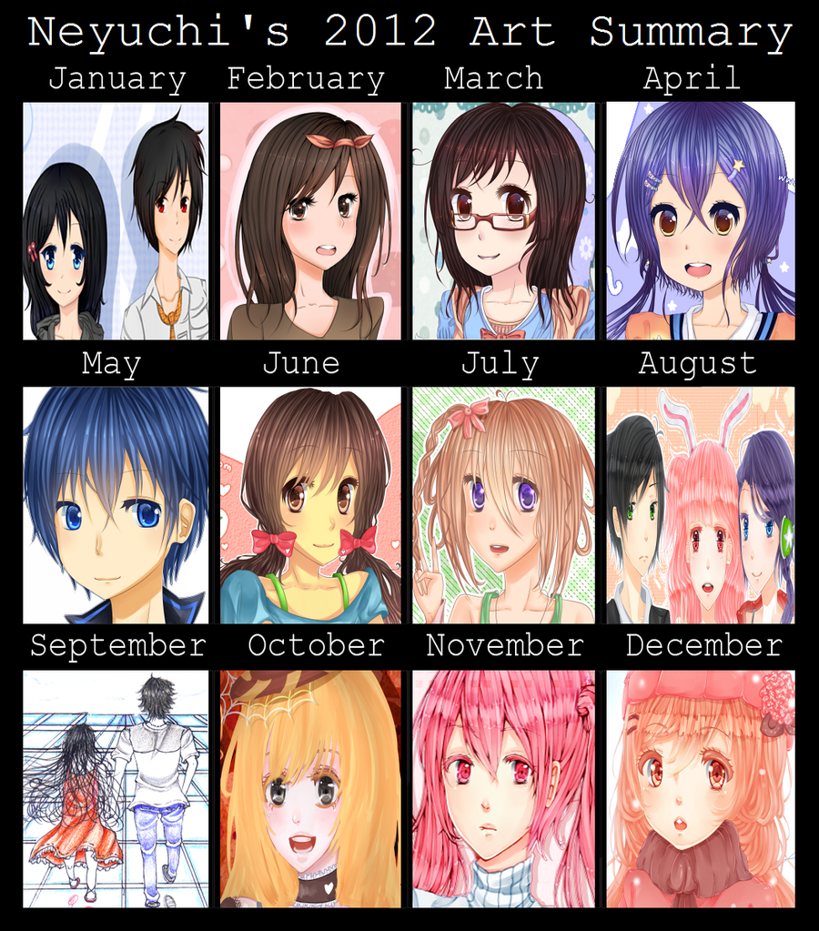 2012 | Art Summary by Neyuchi