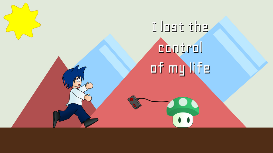 I lost the control of my life by ArtsWithWolves