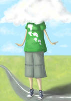 Cloud-Headed Girl by oOkey-chanOo