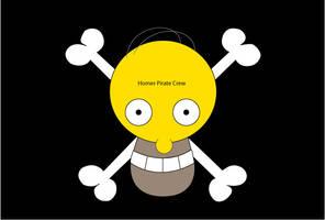 Homer Pirate Crew by AKLP