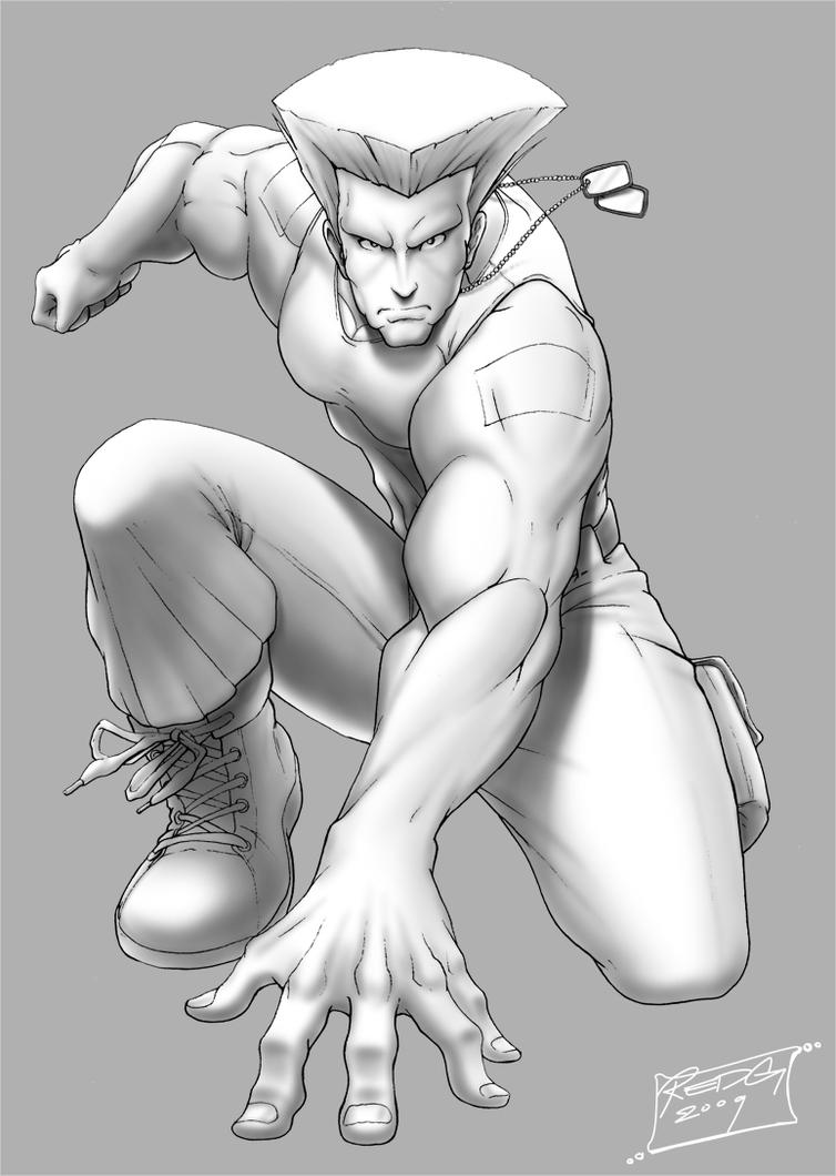 Guile WIP 2 by redgvicente