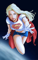 Supergirl by redgvicente