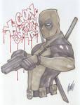 Sketch: Deadpool