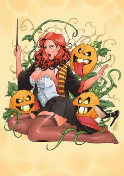 Commission: Wizard x Pumpkins