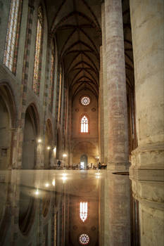 Les Jacobins, a Toulouse, France