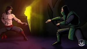 Liu Kang vs Reptile
