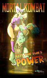 Feel the sun's power