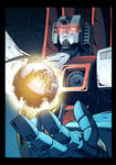 Starscream Cybertron colors