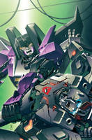Transformers RID #2 cover colors by khaamar