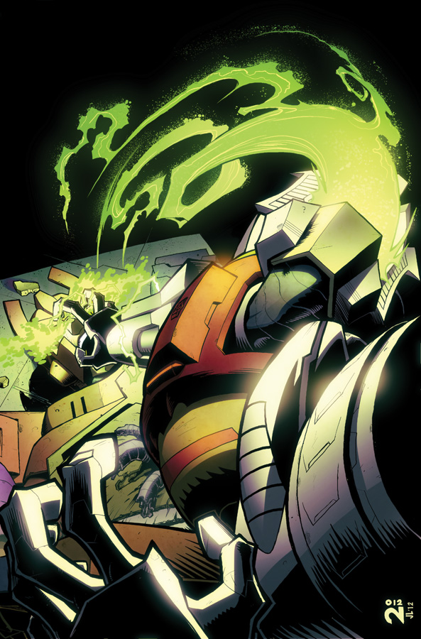 Transformers MTMTE #3 cover colors