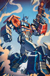 Transformers RID #6 cover colors