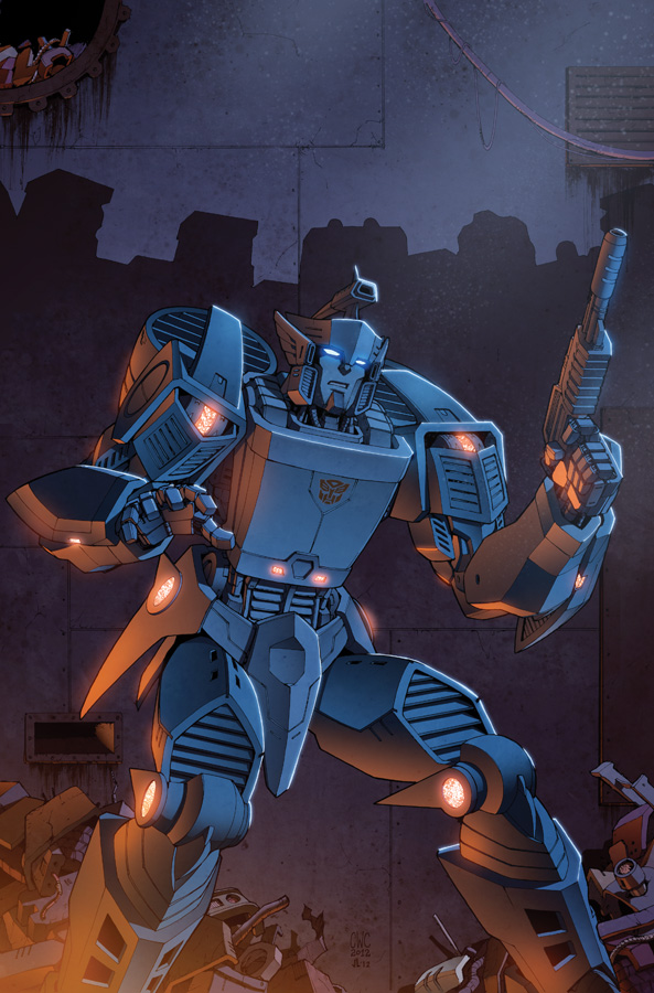 Transformers RID #4 cover colors