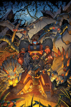 Transformers RID #8 cover colors