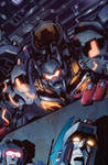 Transformers MTMTE #8 cover colors