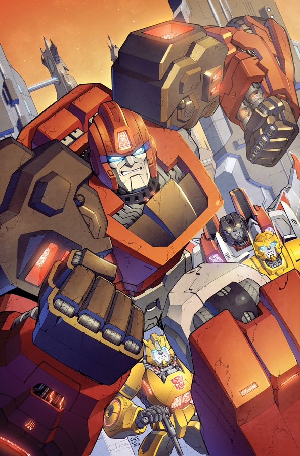 Transformers RID #5 cover colors