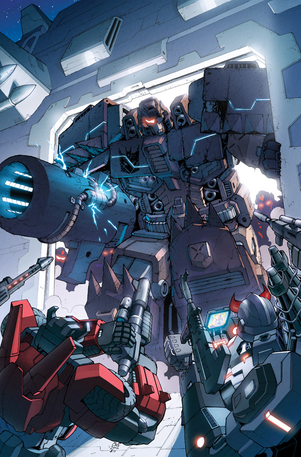Transformers RID #7 cover colors