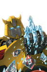 Transformers RID #9 cover colors