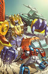 Transformers RID #10 cover colors