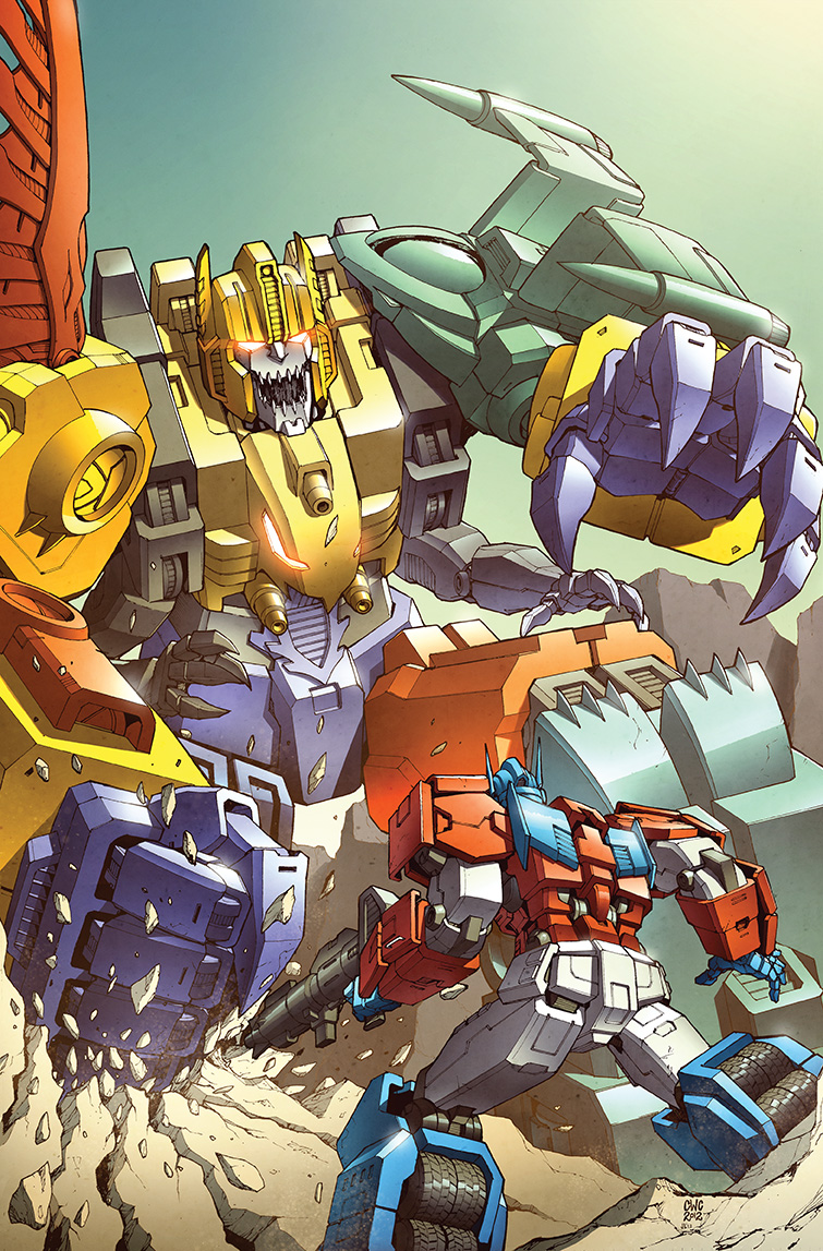 Transformers RID #10 cover colors by khaamar