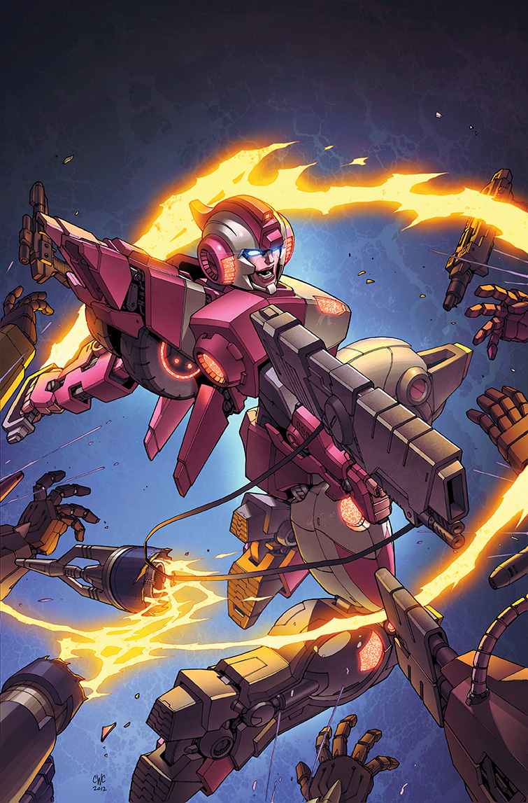 Transformers RID #11 cover colors by khaamar