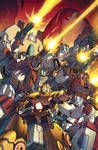 Transformers RID #12 cover colors